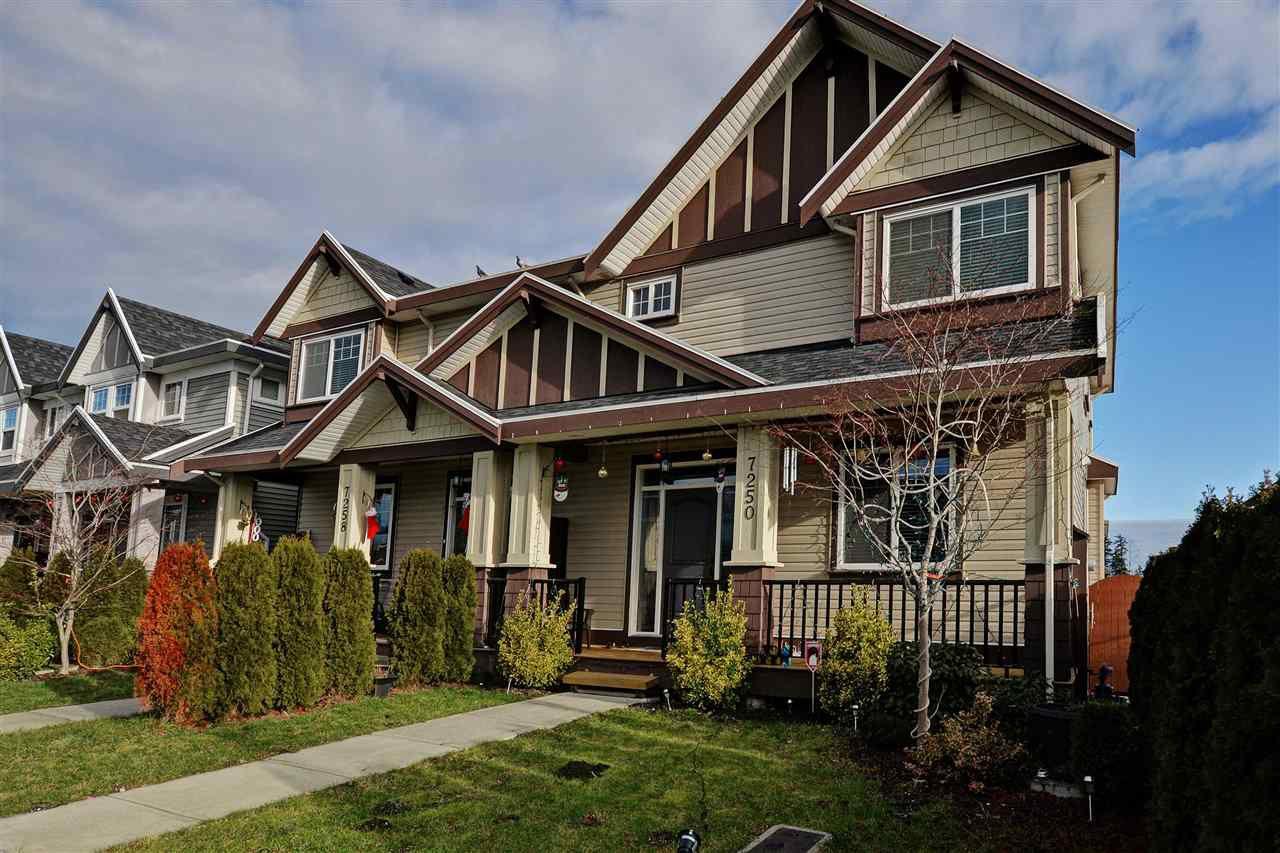 Main Photo: 7250 192 STREET in : Clayton House 1/2 Duplex for sale : MLS®# R2022389