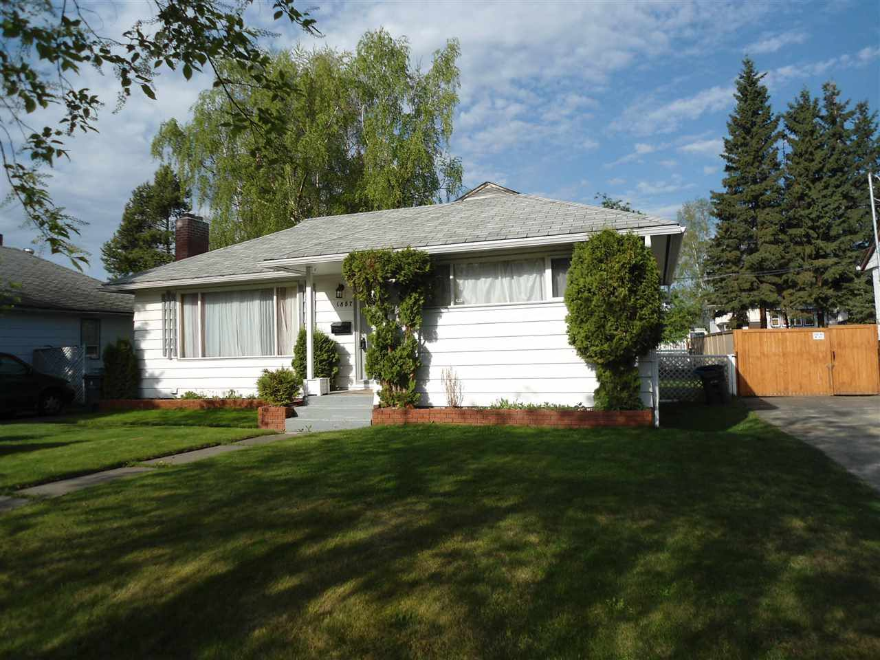 Main Photo: 1857 NORWOOD Street in Prince George: Connaught House for sale (PG City Central (Zone 72))  : MLS®# R2062159