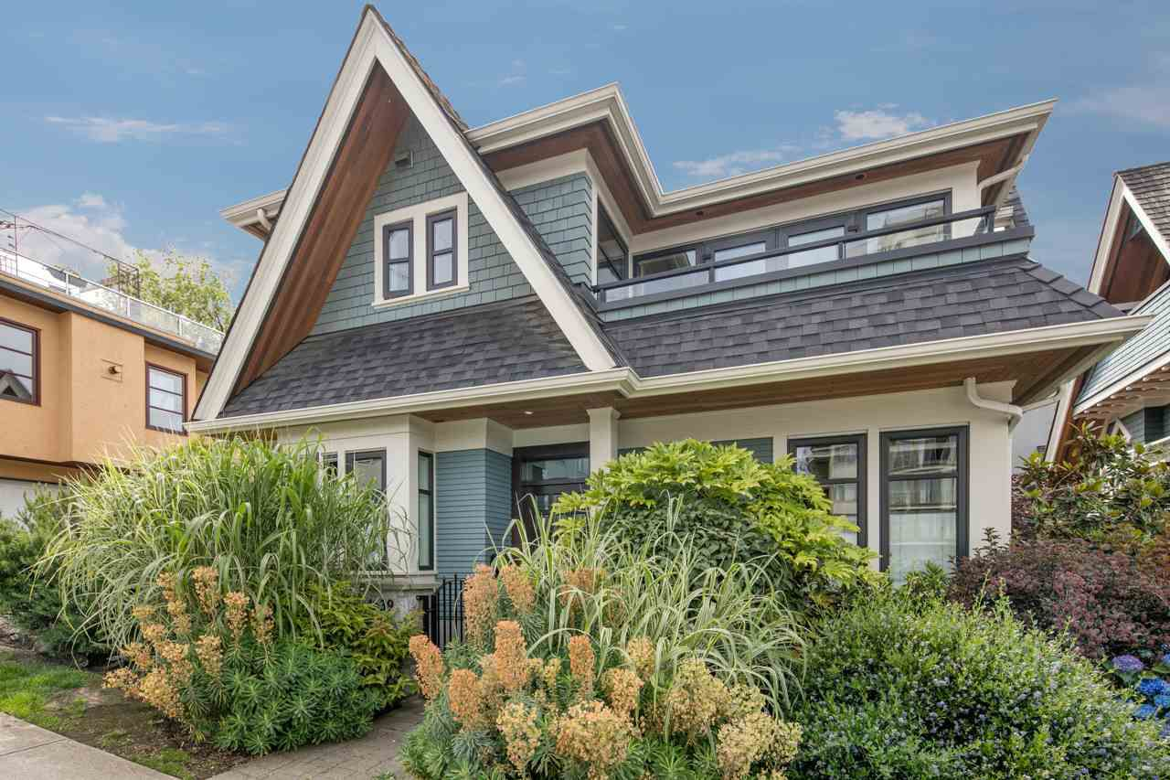 Main Photo: 1639 LARCH Street in Vancouver: Kitsilano House for sale (Vancouver West)  : MLS®# R2078855