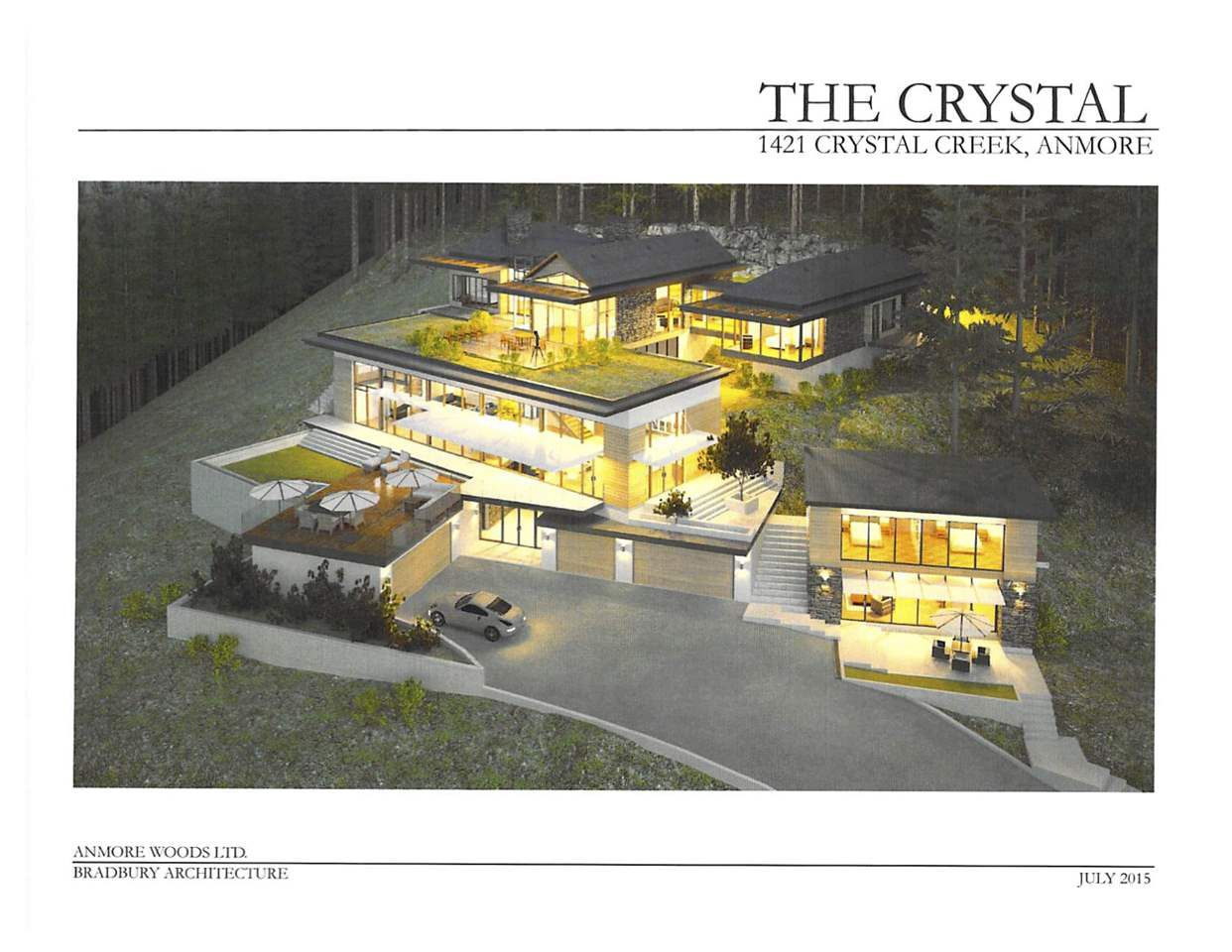 """Main Photo: 1421 CRYSTAL CREEK Drive: Anmore Home for sale in """"CRYSTAL CREEK"""" (Port Moody)  : MLS®# R2189276"""