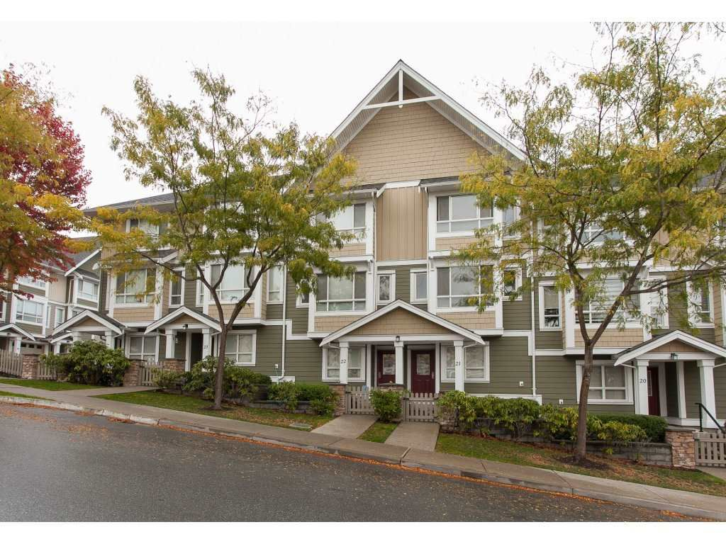 Main Photo: 22 20159 68TH Avenue in Langley: Willoughby Heights Townhouse for sale : MLS®# R2213781