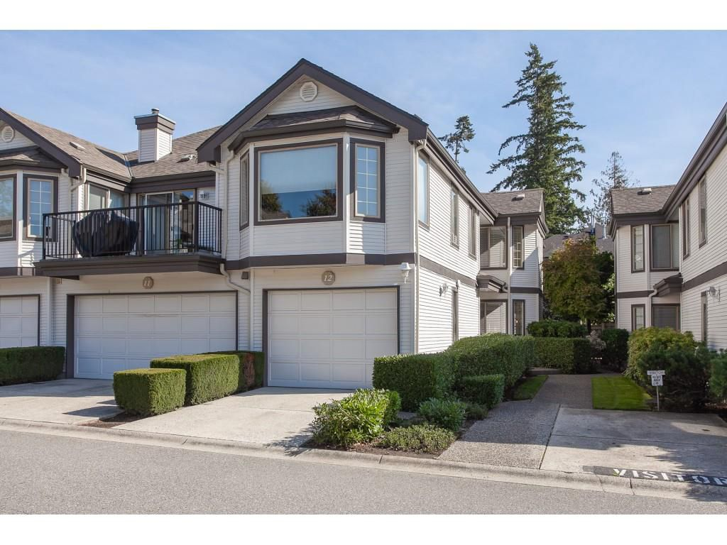 "Main Photo: 12 15840 84 Avenue in Surrey: Fleetwood Tynehead Townhouse for sale in ""Fleetwood Gables"" : MLS®# R2310060"