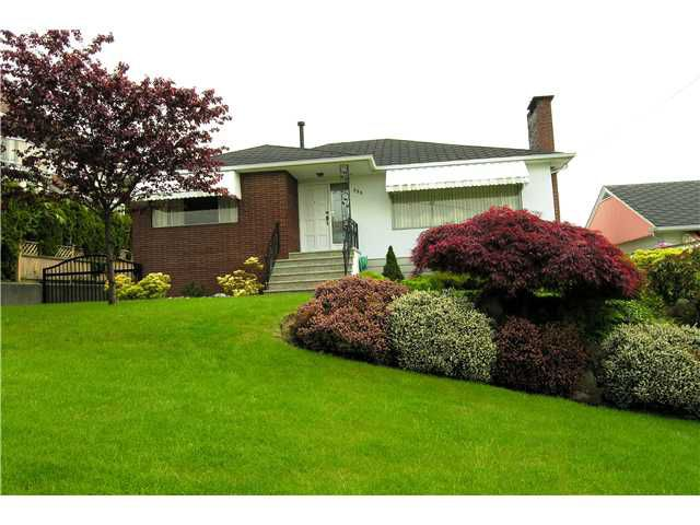 Main Photo: 350 GLYNDE Avenue in Burnaby: Capitol Hill BN House for sale (Burnaby North)  : MLS®# V892647