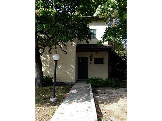 Main Photo: CITY HEIGHTS Townhome for sale : 2 bedrooms : 3420 39th Street #B in San Diego