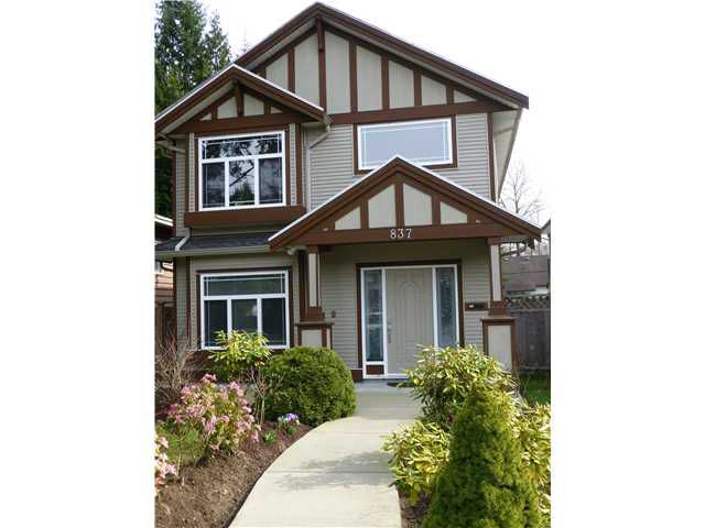 Main Photo: 837 GREENE Street in Coquitlam: Meadow Brook House for sale : MLS®# V1054686