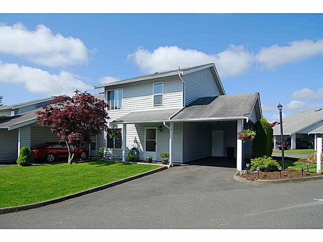 "Main Photo: 43 26970 32 Avenue in Langley: Aldergrove Langley Townhouse for sale in ""PARKSIDE"" : MLS®# F1439995"