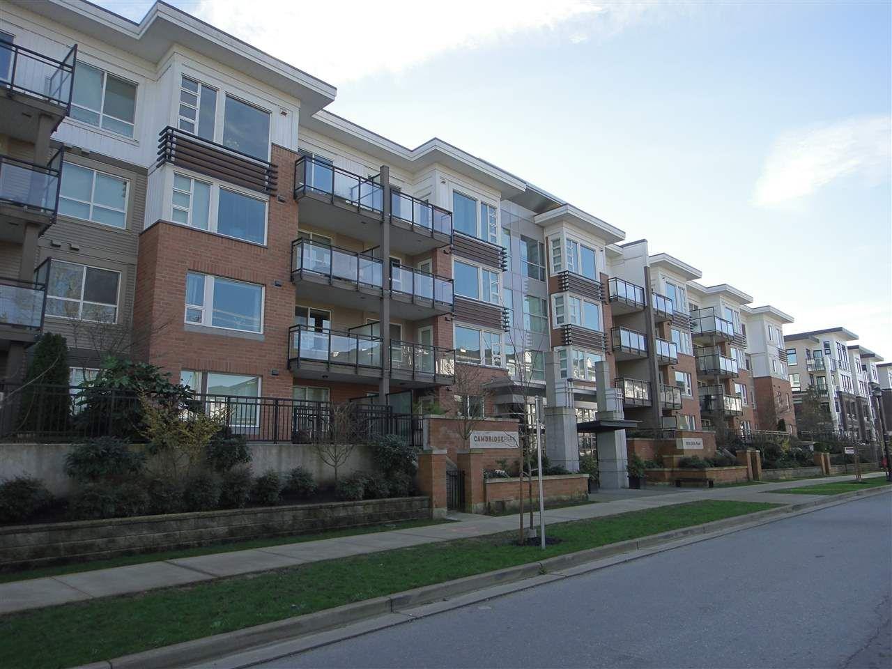 "Main Photo: 331 9500 ODLIN Road in Richmond: West Cambie Condo for sale in ""CAMBRIDGE PARK"" : MLS®# R2027225"