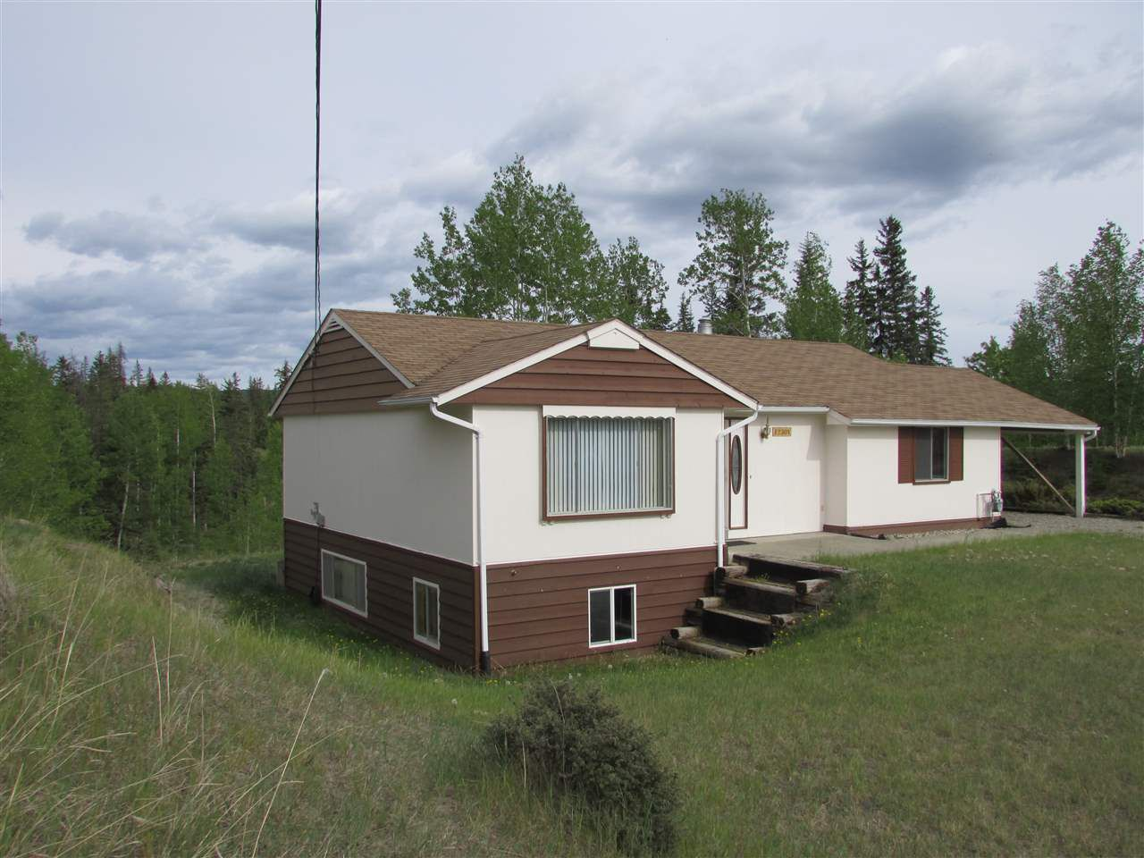 Nicely treed property on the corner with added privacy
