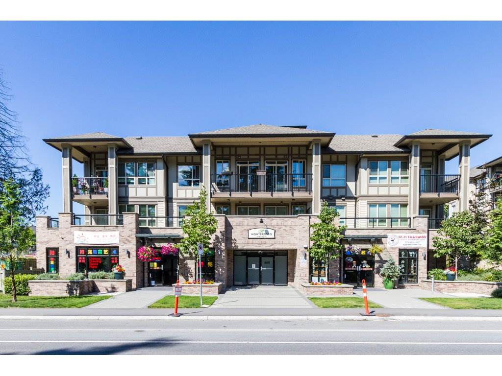 "Main Photo: 302 8695 160 Street in Surrey: Fleetwood Tynehead Condo for sale in ""MONTEROSSO"" : MLS®# R2099400"