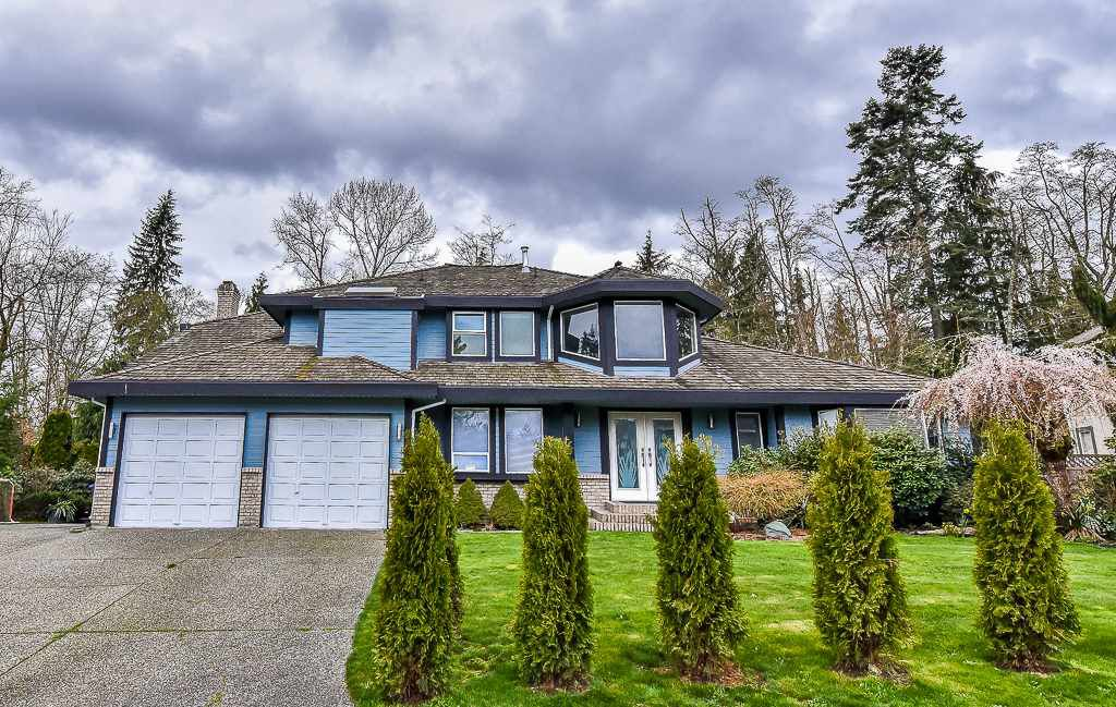 """Main Photo: 8097 149 Street in Surrey: Bear Creek Green Timbers House for sale in """"MORNINGSIDE ESTATES"""" : MLS®# R2156047"""