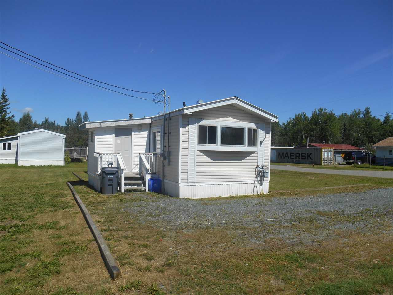 Main Photo: 2147 E MCLAREN Road in Prince George: North Blackburn Manufactured Home for sale (PG City South East (Zone 75))  : MLS®# R2193244