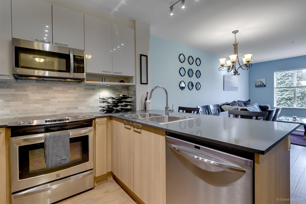 "Main Photo: 307 210 LEBLEU Street in Coquitlam: Maillardville Condo for sale in ""MACKIN PARK"" : MLS®# R2221827"