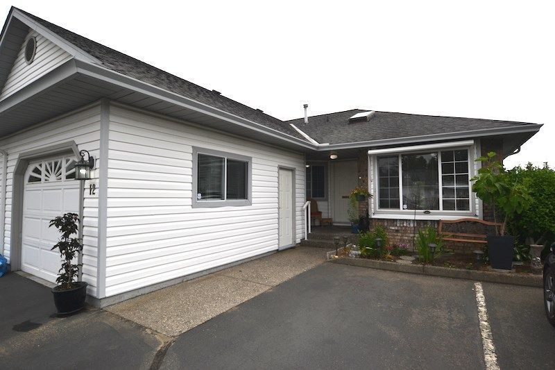 "Main Photo: 12 33922 KING Road in Abbotsford: Poplar Townhouse for sale in ""Kingsview Estates"" : MLS®# R2282388"