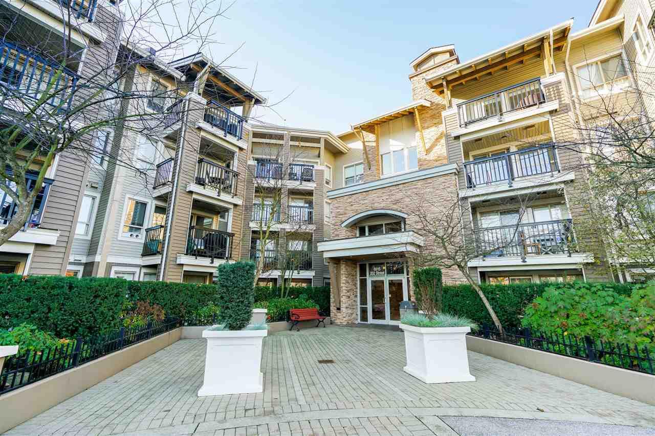 "Main Photo: 213 8915 202 Street in Langley: Walnut Grove Condo for sale in ""Hawthorne"" : MLS®# R2327072"