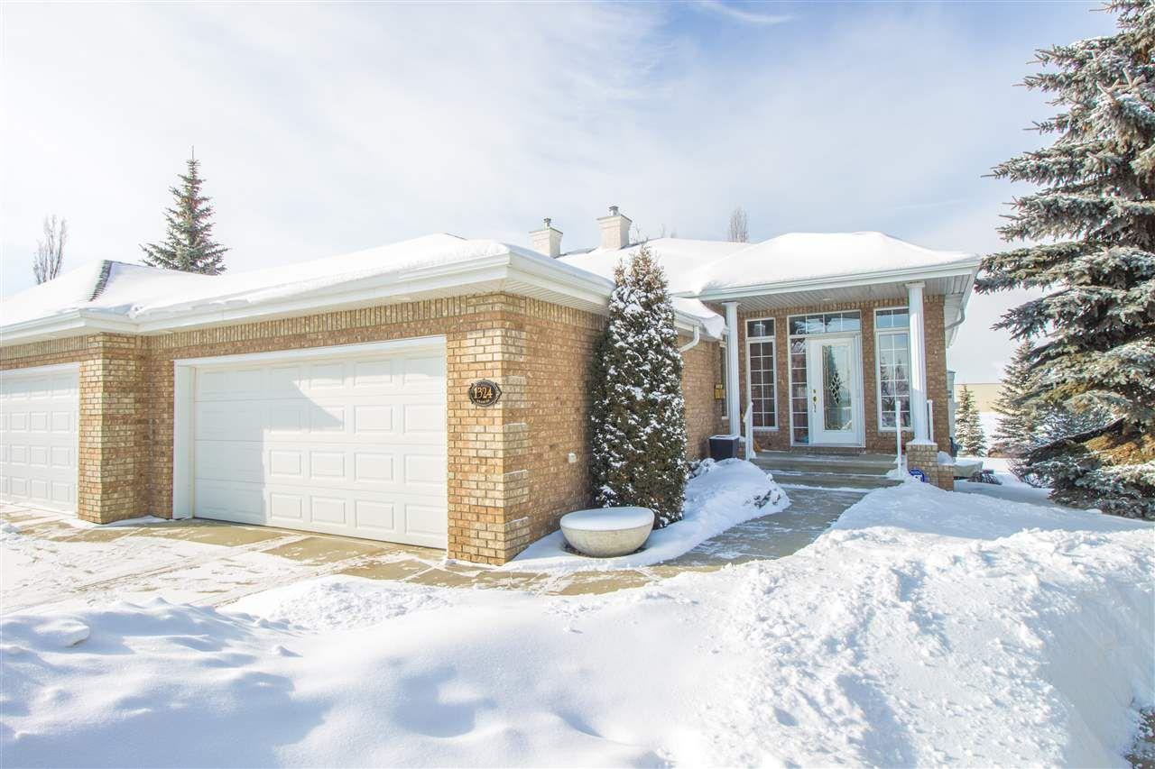 Main Photo: 1324 THOMPSON Court in Edmonton: Zone 14 House Half Duplex for sale : MLS®# E4143911