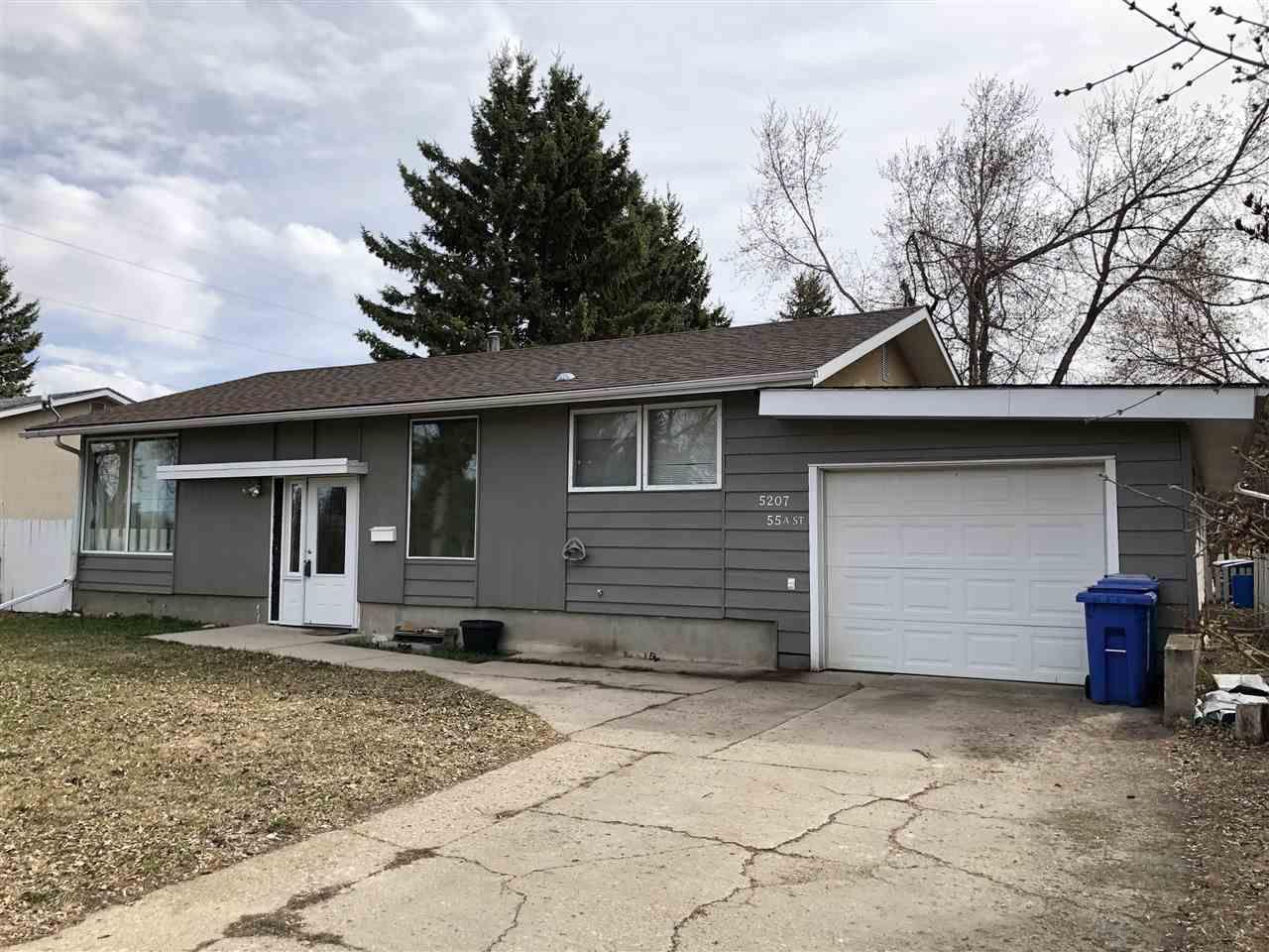 Main Photo: 5207 55A Street: Wetaskiwin House for sale : MLS®# E4153261