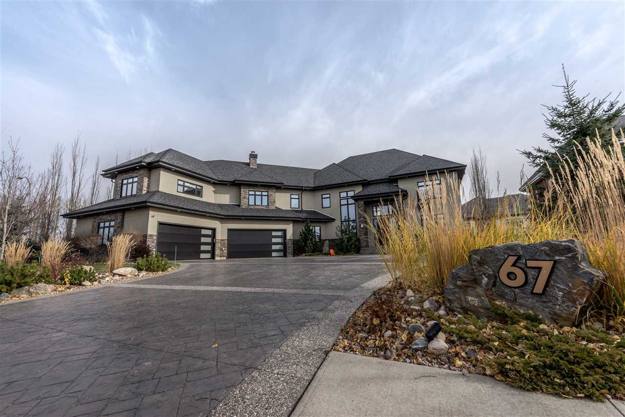 Main Photo: 67 WINDERMERE Drive in Edmonton: Zone 56 House for sale : MLS®# E4154868