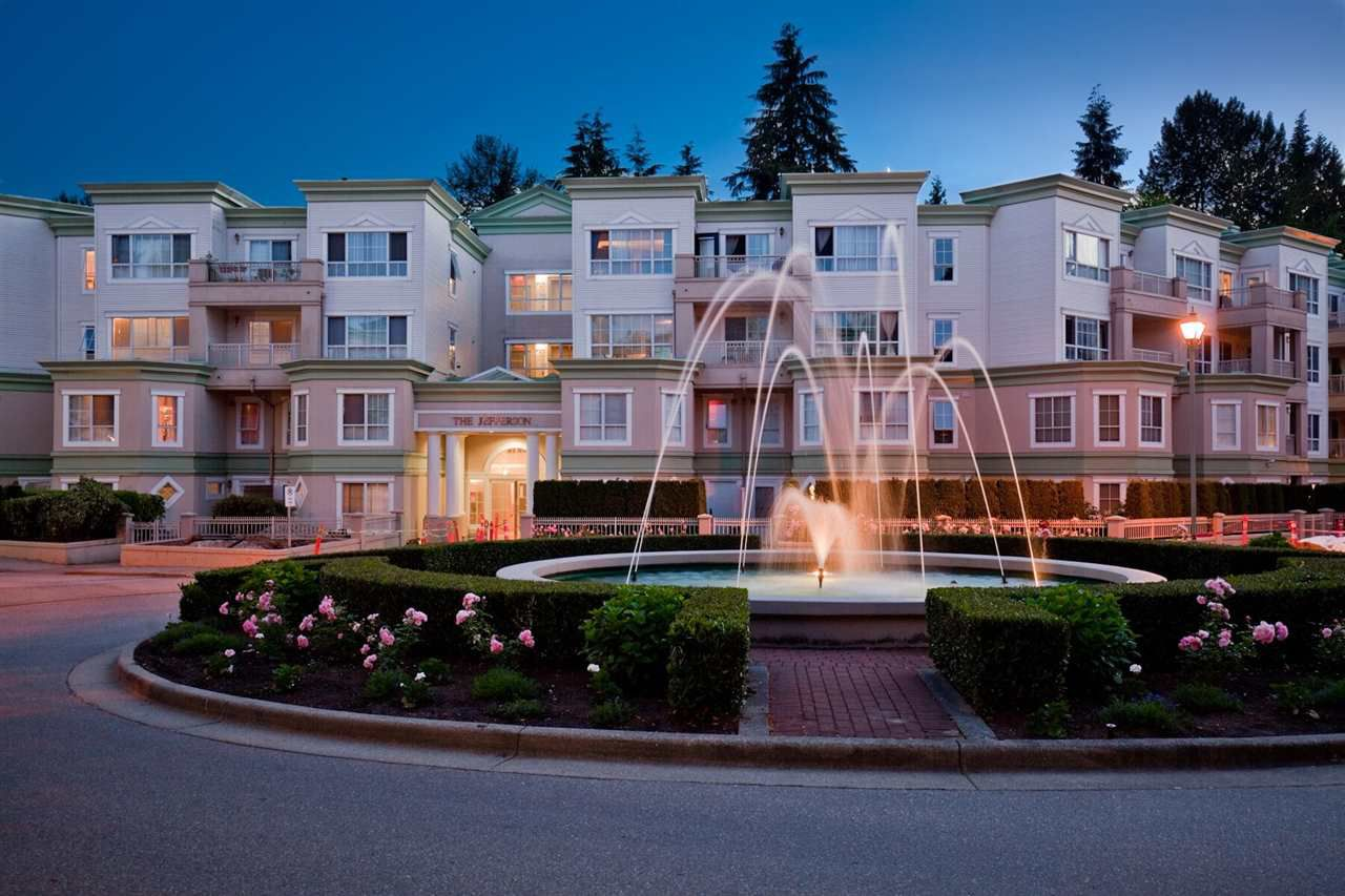 "Main Photo: 216 2960 PRINCESS Crescent in Coquitlam: Canyon Springs Condo for sale in ""THE JEFFERSON"" : MLS®# R2366940"