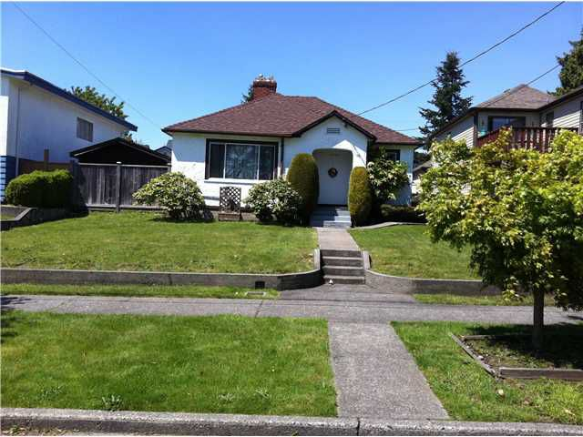 Main Photo: 1925 EDINBURGH Street in New Westminster: West End NW House for sale : MLS®# V889692