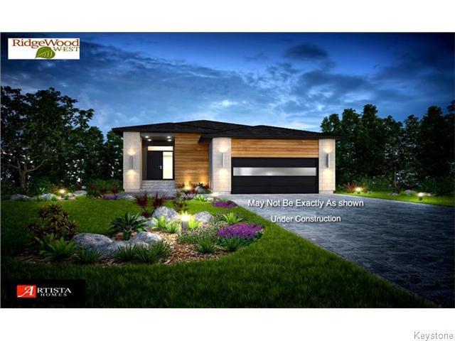 Main Photo: 8 Singleton Court in Winnipeg: Residential for sale : MLS®# 1612096