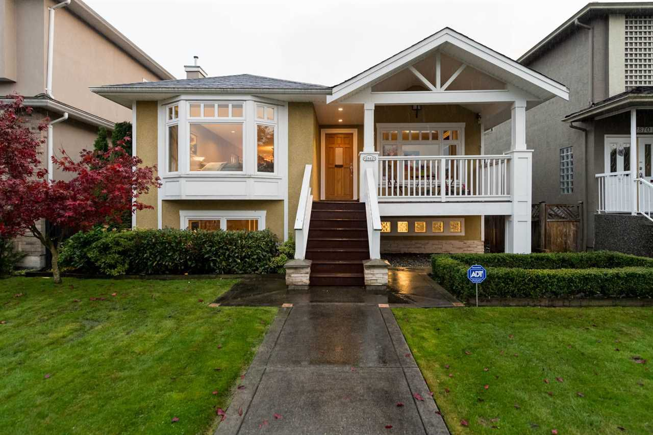 Main Photo: 2862 W 22ND Avenue in Vancouver: Arbutus House for sale (Vancouver West)  : MLS®# R2119263