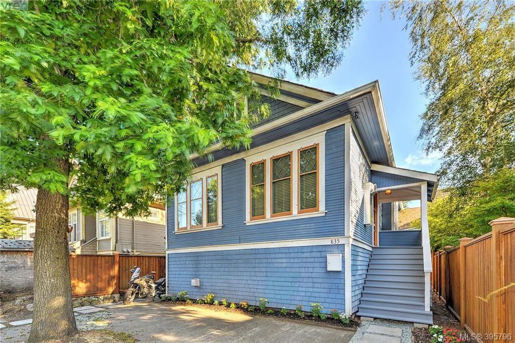 Main Photo: 835 Bay Street in VICTORIA: Vi Central Park Single Family Detached for sale (Victoria)  : MLS®# 395796