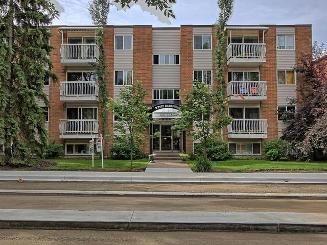 Main Photo: 304 10625 83 Avenue in Edmonton: Zone 15 Condo for sale : MLS®# E4142652