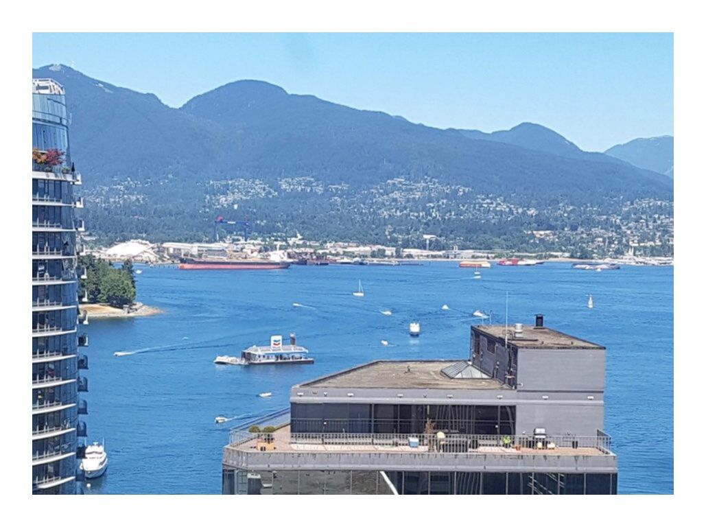 "Main Photo: 2204 1188 W PENDER Street in Vancouver: Coal Harbour Condo for sale in ""THE SAPPHIRE"" (Vancouver West)  : MLS®# R2339707"