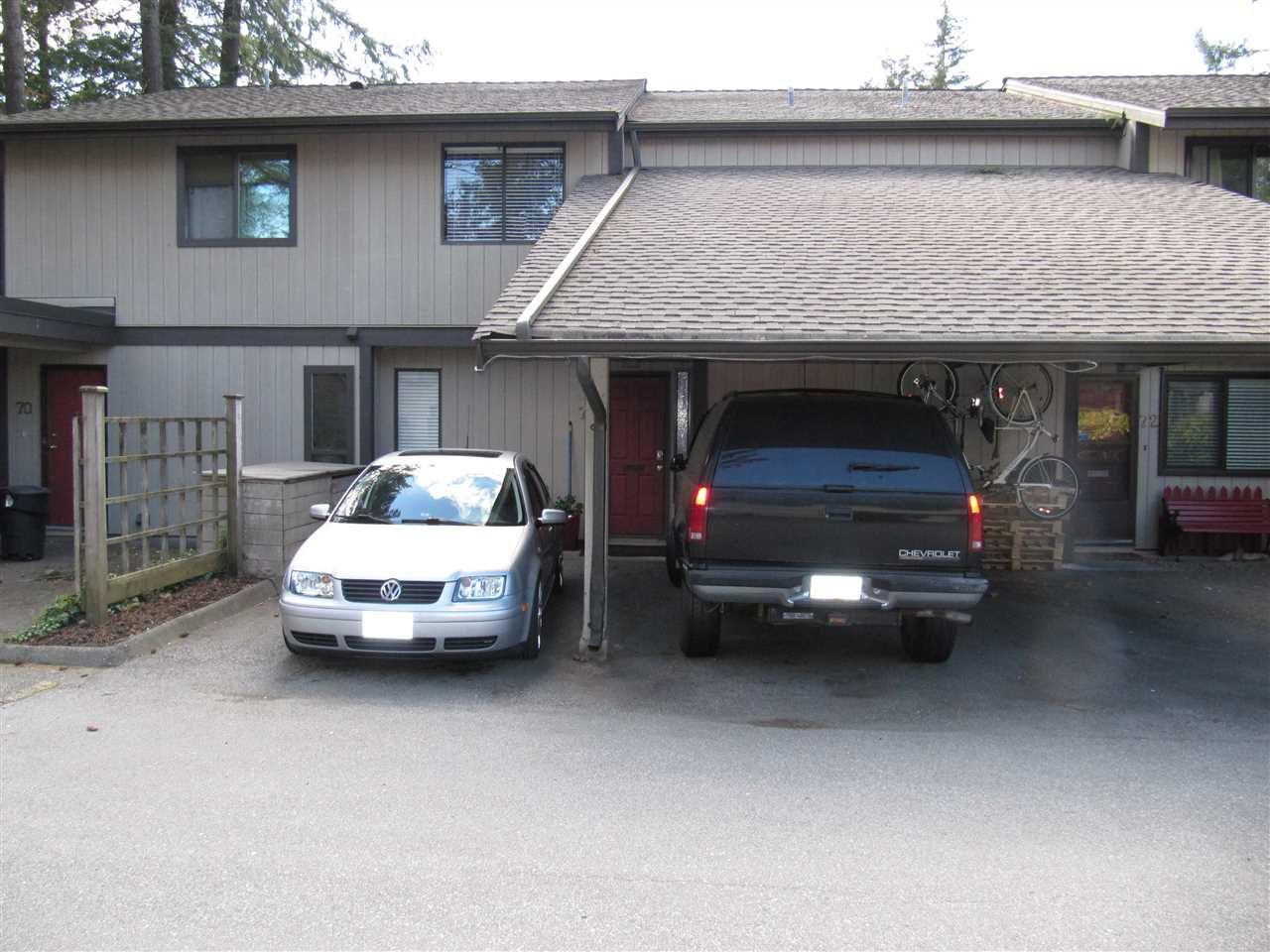 Main Photo: 71 6622 BAKER Road in Delta: Sunshine Hills Woods Townhouse for sale (N. Delta)  : MLS®# R2367366