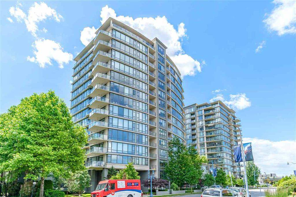 "Main Photo: 1605 7362 ELMBRIDGE Way in Richmond: Brighouse Condo for sale in ""FLO"" : MLS®# R2368744"