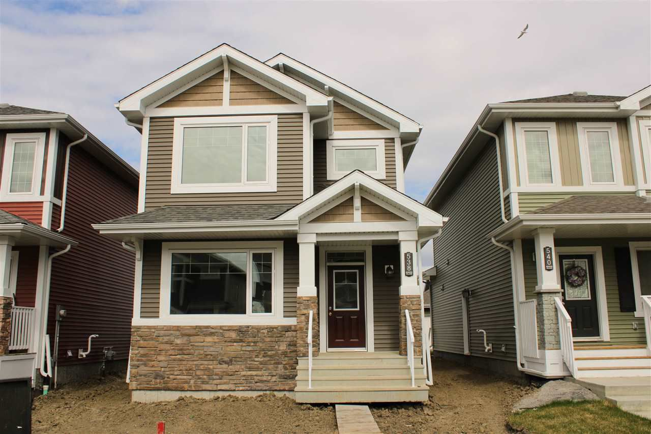 Main Photo: 538 EBBERS Way in Edmonton: Zone 02 House for sale : MLS®# E4156927