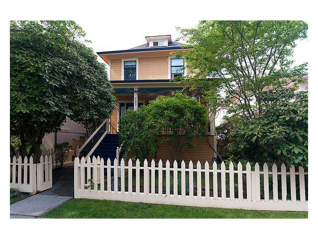 Main Photo: 727 W 17TH Avenue in Vancouver: Cambie House for sale (Vancouver West)  : MLS®# V890415