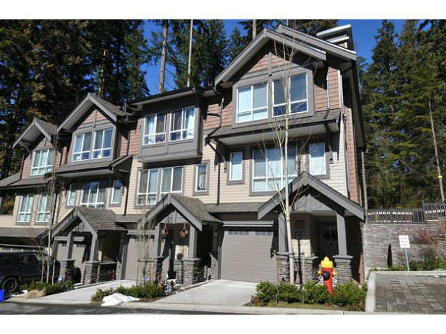 """Main Photo: 144 1460 SOUTHVIEW Street in Coquitlam: Burke Mountain Townhouse for sale in """"CEDAR CREEK"""" : MLS®# V1049640"""