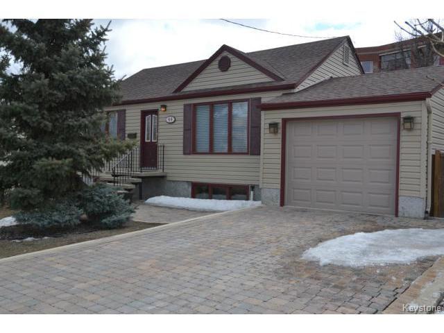 Main Photo: 44 Lavalee Road in WINNIPEG: St Vital Residential for sale (South East Winnipeg)  : MLS®# 1407650