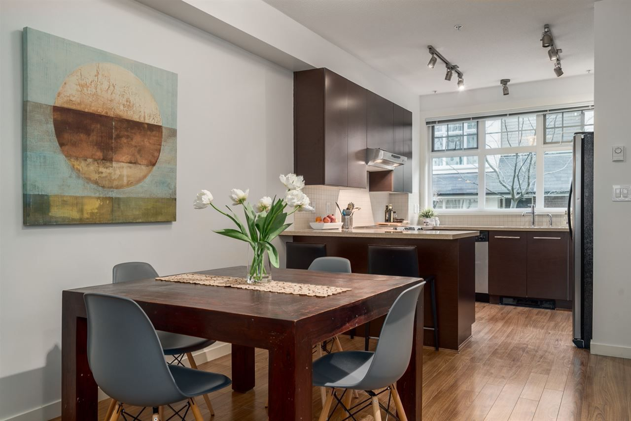 """Main Photo: 3852 WELWYN Street in Vancouver: Victoria VE Townhouse for sale in """"STORIES"""" (Vancouver East)  : MLS®# R2025425"""