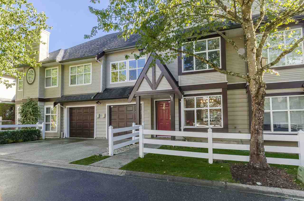 "Main Photo: 36 11757 236 Street in Maple Ridge: Cottonwood MR Townhouse for sale in ""GALIANO"" : MLS®# R2111041"