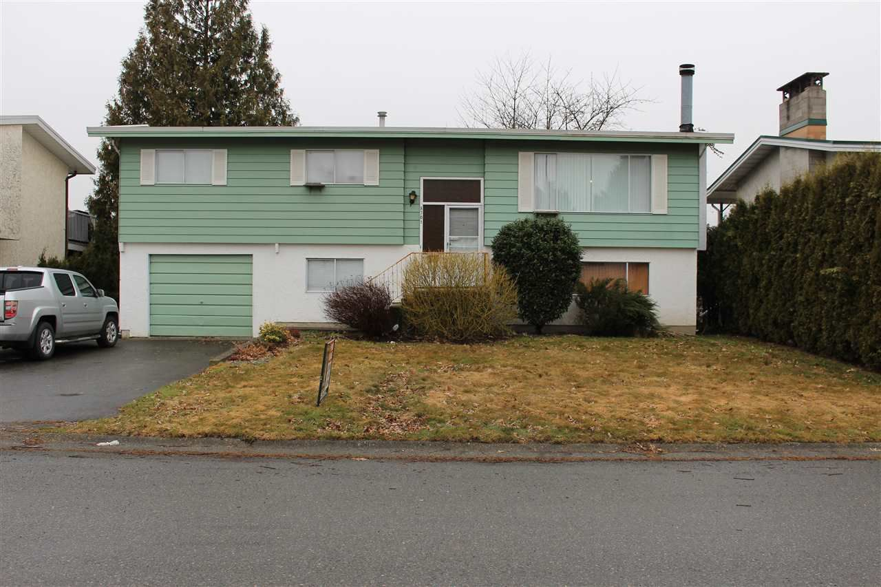 Main Photo: 8701 CORNWALL Crescent in Chilliwack: Chilliwack E Young-Yale House for sale : MLS®# R2143121