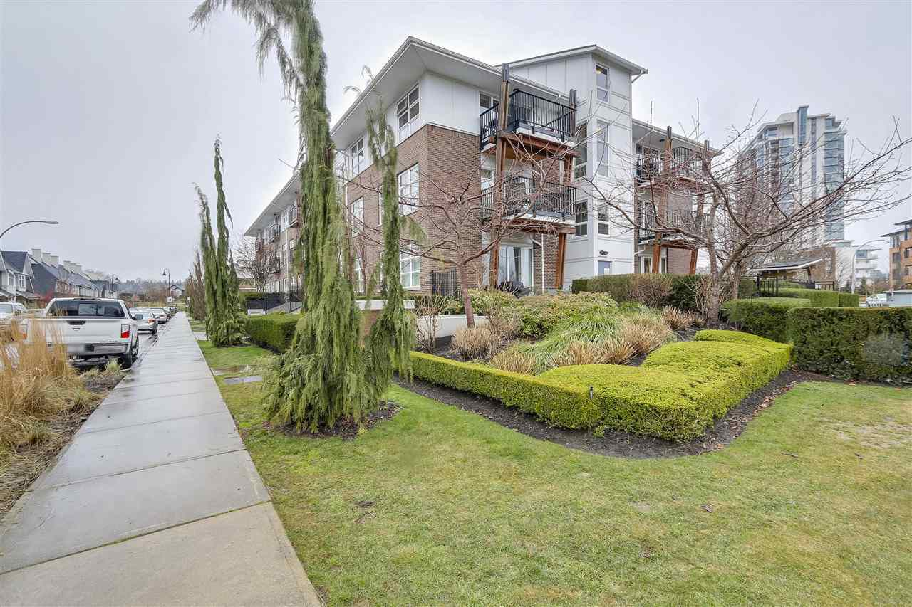 "Main Photo: 306 215 BROOKES Street in New Westminster: Queensborough Condo for sale in ""DUO AT PORT ROYAL"" : MLS®# R2243127"