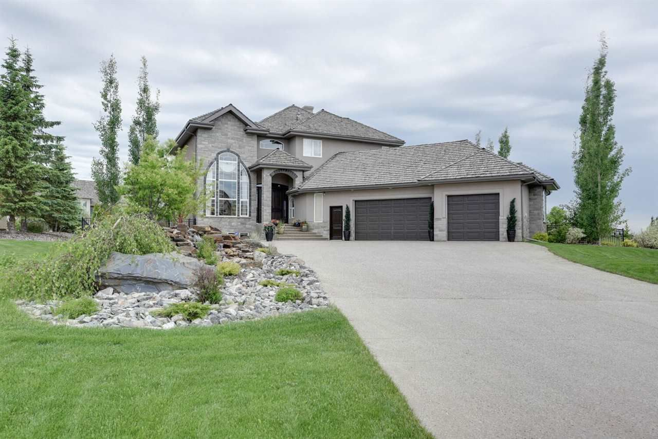 Main Photo: 58 RIVERSTONE Close: Rural Sturgeon County House for sale : MLS®# E4135569