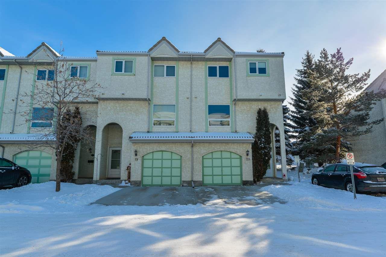 Main Photo: 20 9520 174 Street in Edmonton: Zone 20 Townhouse for sale : MLS®# E4143429