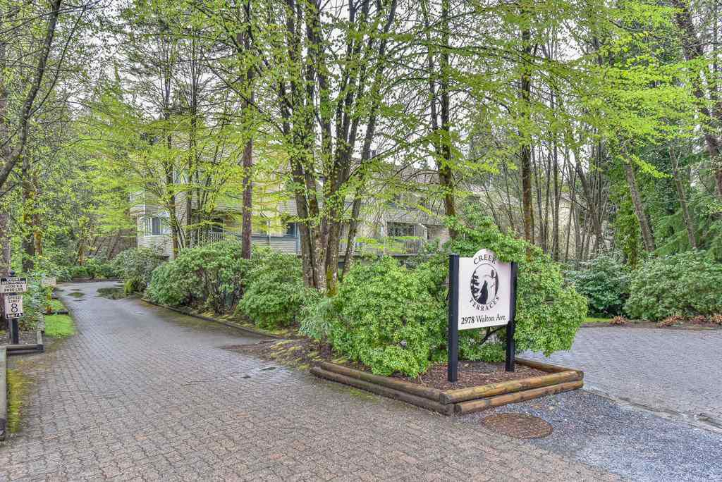 "Main Photo: 20 2978 WALTON Avenue in Coquitlam: Canyon Springs Townhouse for sale in ""CREEK TERRACES"" : MLS®# R2357737"