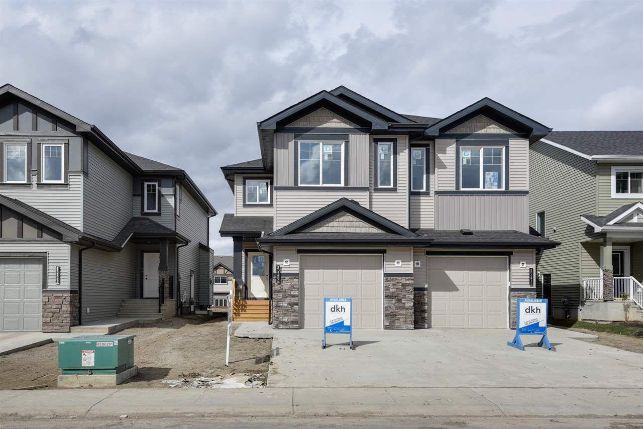 Main Photo: 8565 CUSHING Place in Edmonton: Zone 55 House Half Duplex for sale : MLS®# E4151853