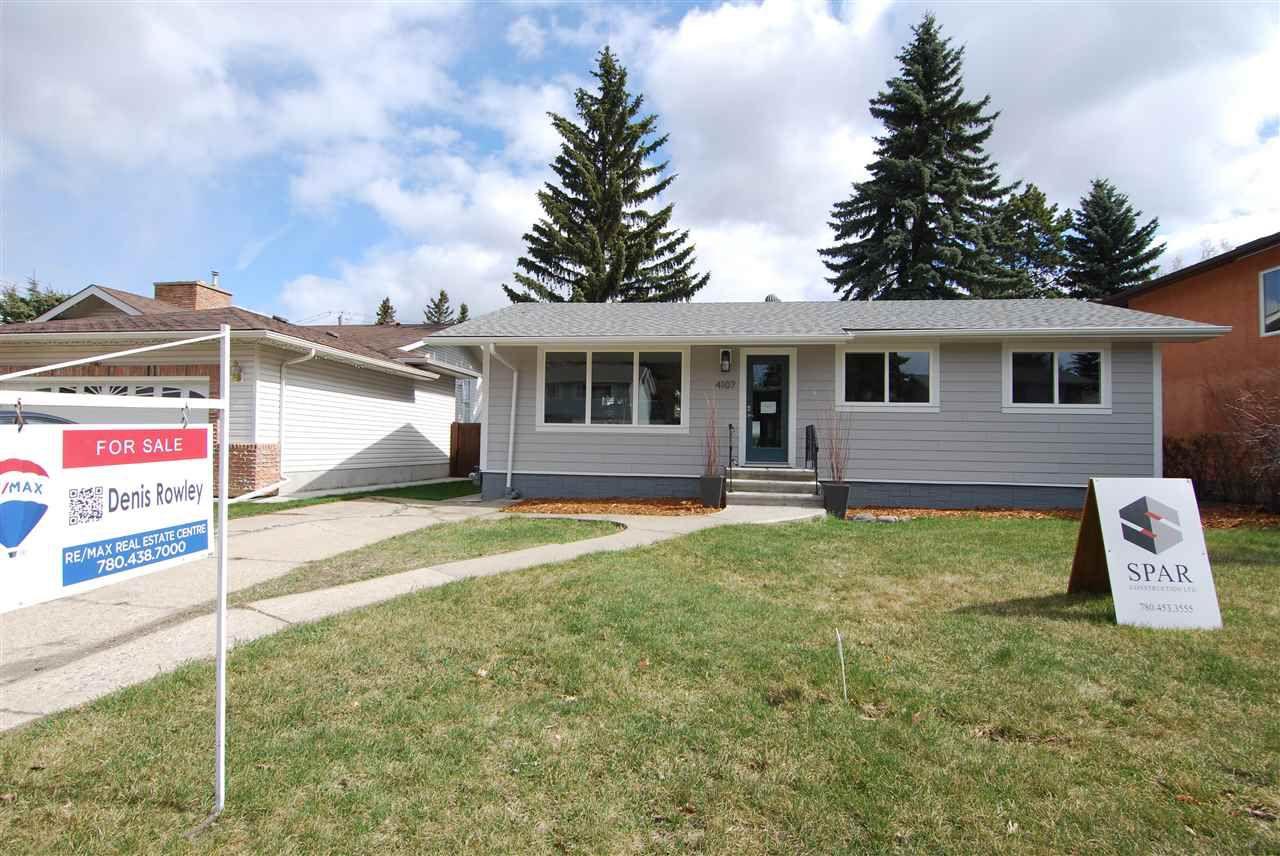Main Photo: 4107 ASPEN Drive E in Edmonton: Zone 16 House for sale : MLS®# E4153011