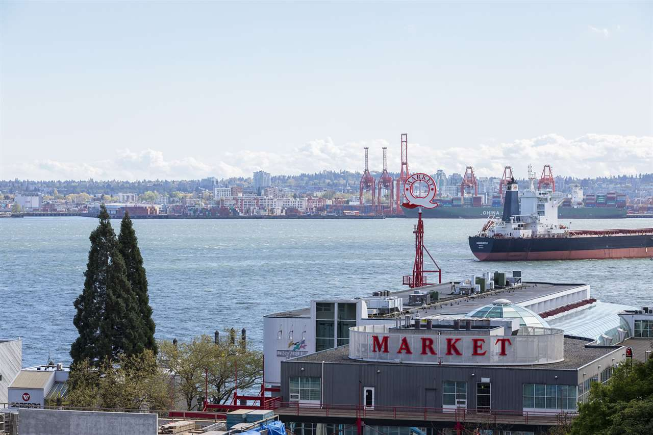 "Main Photo: 602 155 W 1ST Street in North Vancouver: Lower Lonsdale Condo for sale in ""Time"" : MLS®# R2365793"