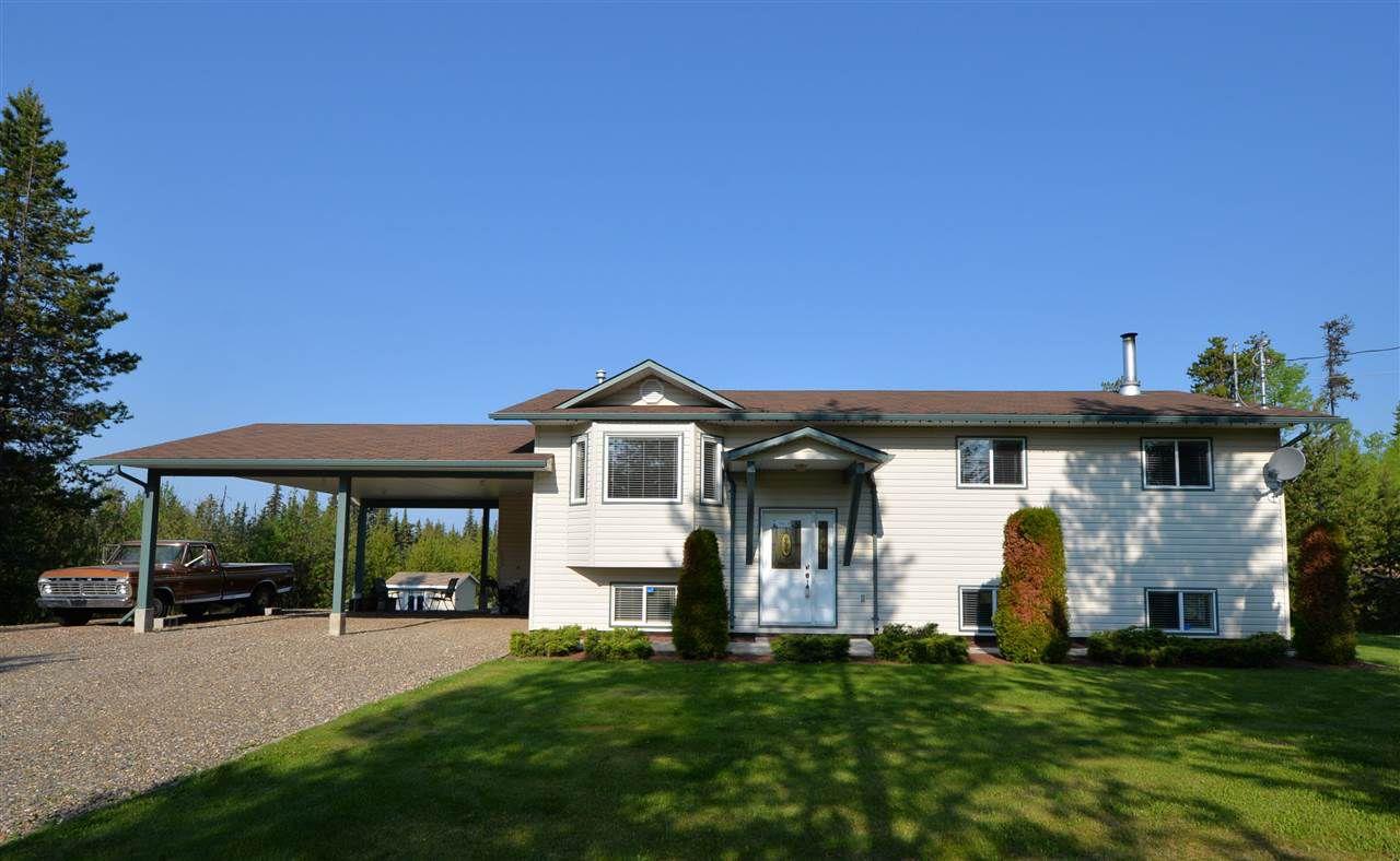 """Main Photo: 10205 SKYLARK Road in Prince George: Beaverley House for sale in """"WEST BEAVERLEY"""" (PG Rural West (Zone 77))  : MLS®# R2374466"""