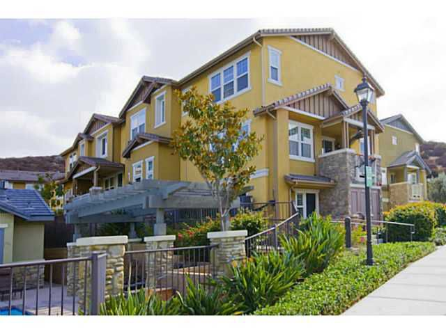 Main Photo: SANTEE Townhome for sale or rent : 3 bedrooms : 1053 Iron Wheel Street