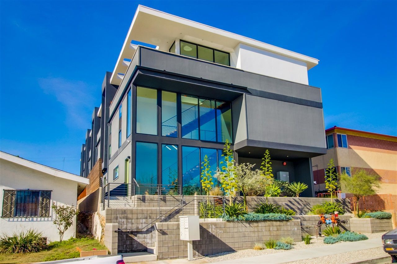 Main Photo: NORTH PARK Rowhome for sale : 2 bedrooms : 4108 Louisiana St in San Diego