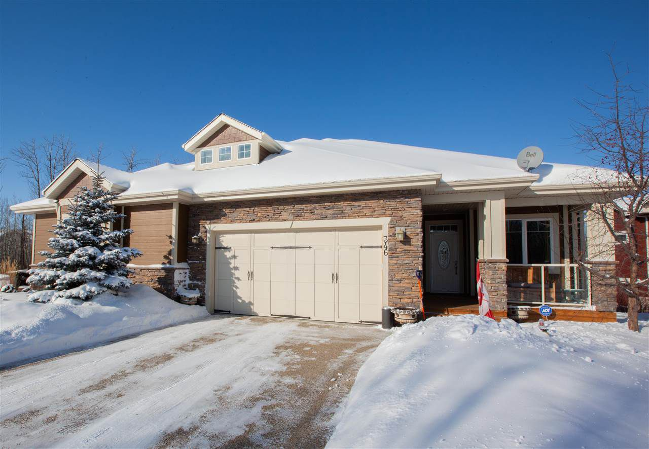 Main Photo: 346 51101 RGE RD 222: Rural Strathcona County House Half Duplex for sale : MLS®# E4143530