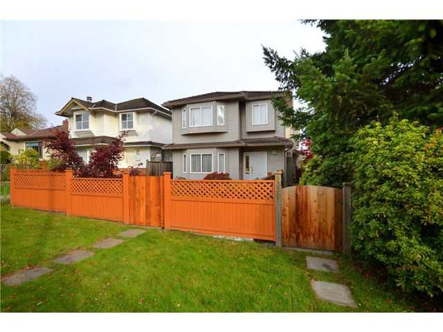 Main Photo: 8338 SELKIRK Street in Vancouver: Marpole House 1/2 Duplex for sale (Vancouver West)  : MLS®# V918484