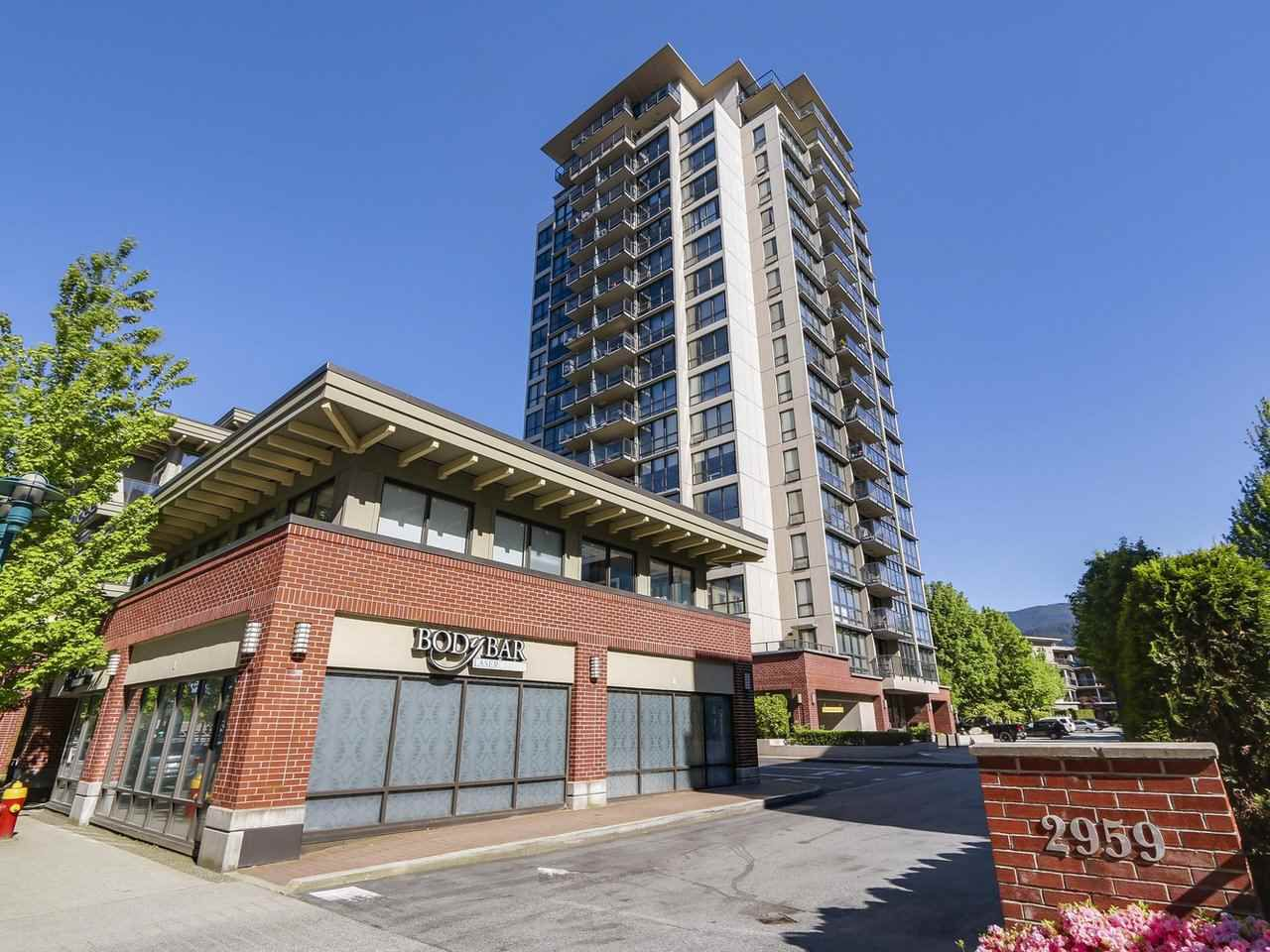 "Main Photo: 1402 2959 GLEN Drive in Coquitlam: North Coquitlam Condo for sale in ""THE PARC"" : MLS®# R2173801"